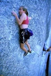 medo durante a escalada
