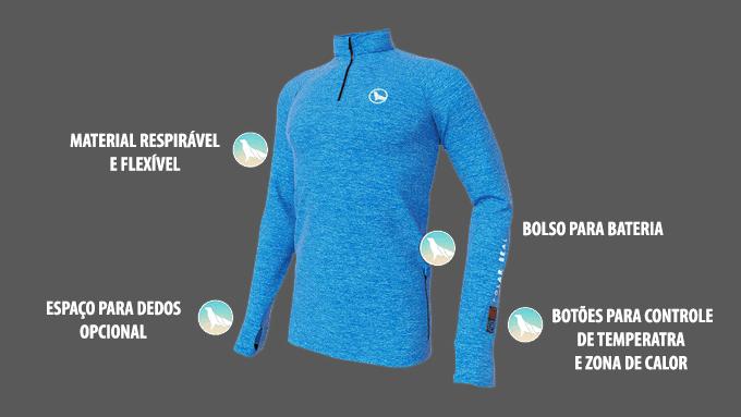 utilidades da jaqueta polarseal