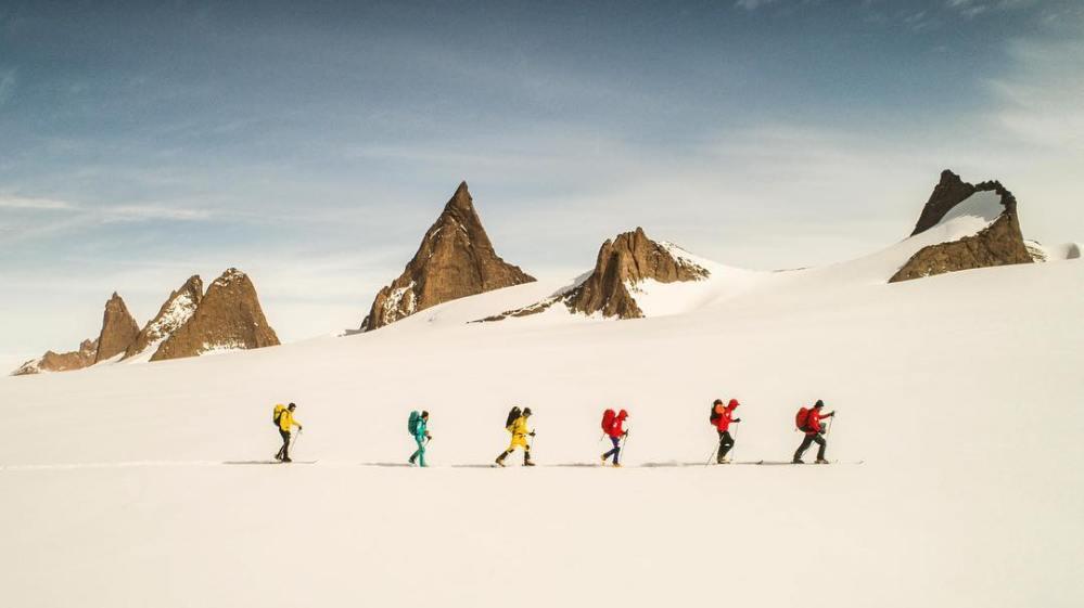 Expedição Alex Honnold para Antartica